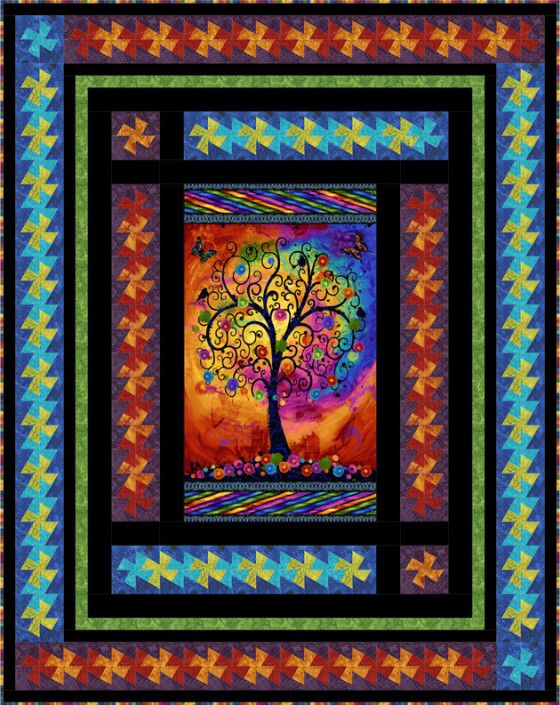 Large Fabric Panels : Best images about panel quilts on pinterest robert