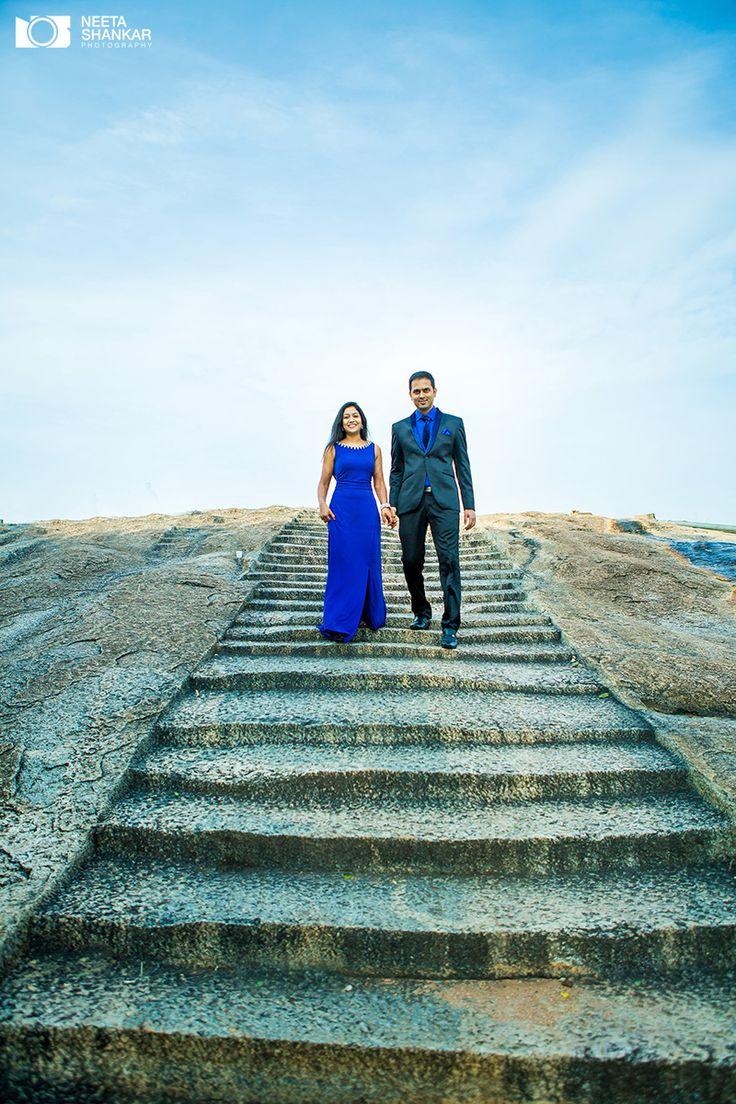 Blue creates a great contrast #candid #Photography #prewedding #photoshoot #neetashankarphotography #neetashankar #couple #portrait