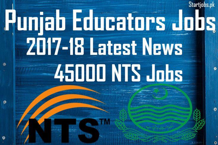 punjab Eductor jobs 2017-2018 Latest news