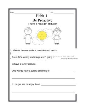 Printables 7 Habits Worksheets 1000 images about seven habits on pinterest 7 leader in of happy kids worksheets