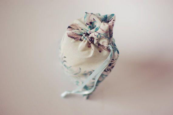 Wedding Favor Bag  Silk by MascandFemme on Etsy, $13.75