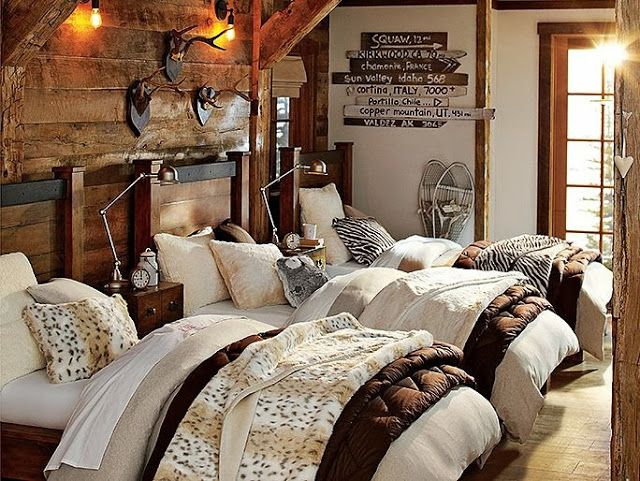 458 Best Lodge Style   Bedrooms Images On Pinterest | Rustic Bedrooms, Bedroom  Decor And Cottages