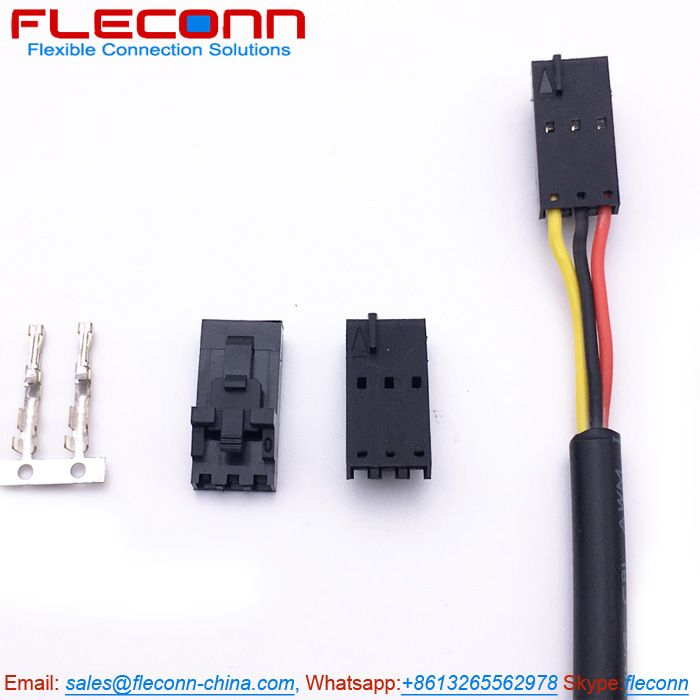 Molex SL 70400-3141 3 Pin Wire Harness, Housing with Positive Lock, Wire  Size 22 AWG | Wire connectors, Connector, Wire