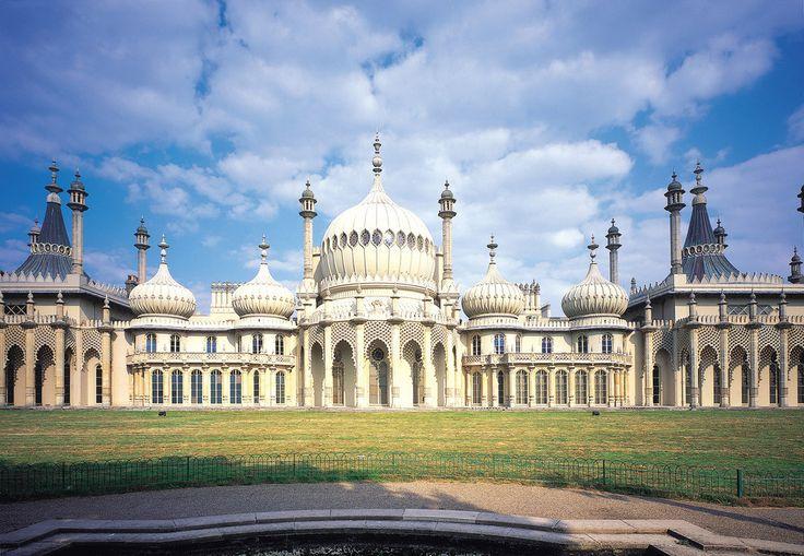 Pavillon Royal : Brighton, Angleterre   12 bâtiments britanniques parfaitement adaptés aux méchants des James Bond