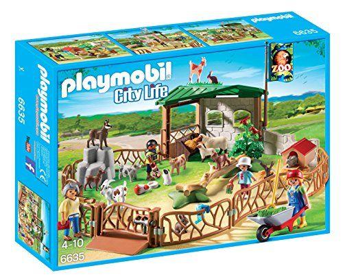 Playmobil – 6635 – La Vie En Ville – Parc Animalier: Quelle belle journée ensoleillée. C'est l'occasion idéale de visiter le parc…