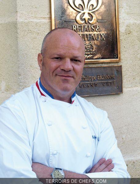 Portrait du chef Philippe Etchebest, meilleur ouvrier de France et membre du jury Top Chef 2015