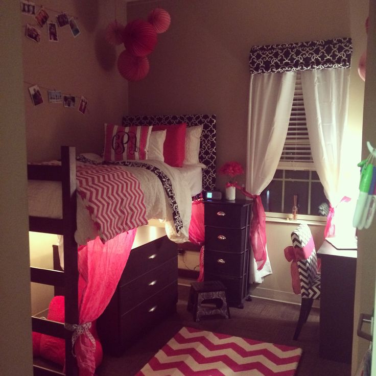 University Of Alabama Dorm Room College Dorm Ideas