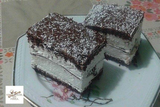 Kinder pingui A tepsi mérete: 25×37 cm A tésztához:  6 db tojás 6 evőkanál cukor 6 evőkanál meleg víz 6 evőkanál liszt 2 evőkanál keserű kakaópor...