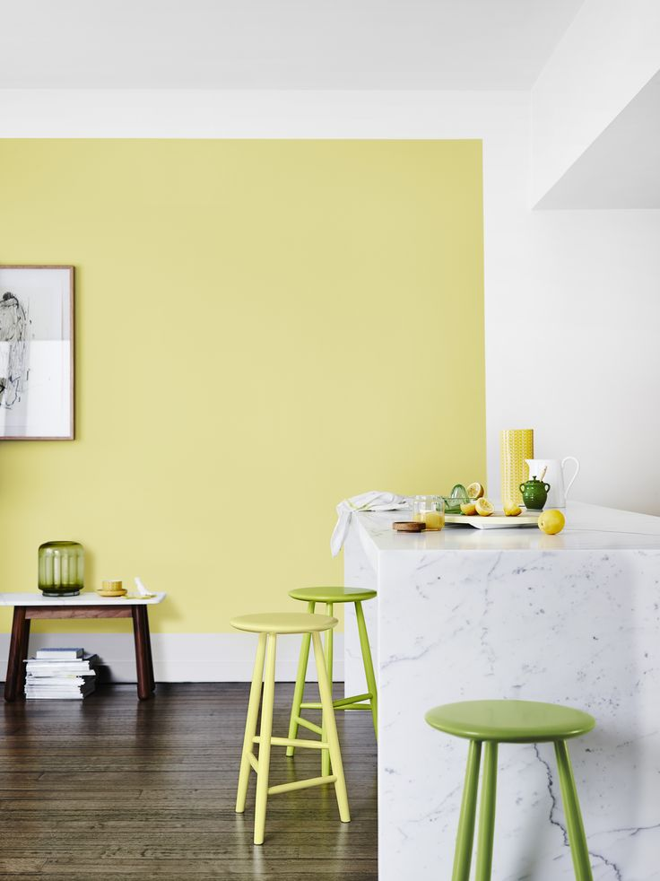 create the look with yellowgreen dulux southbridge and church road dulux colours available from guthrie bowron stores