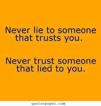 essay on why people lie
