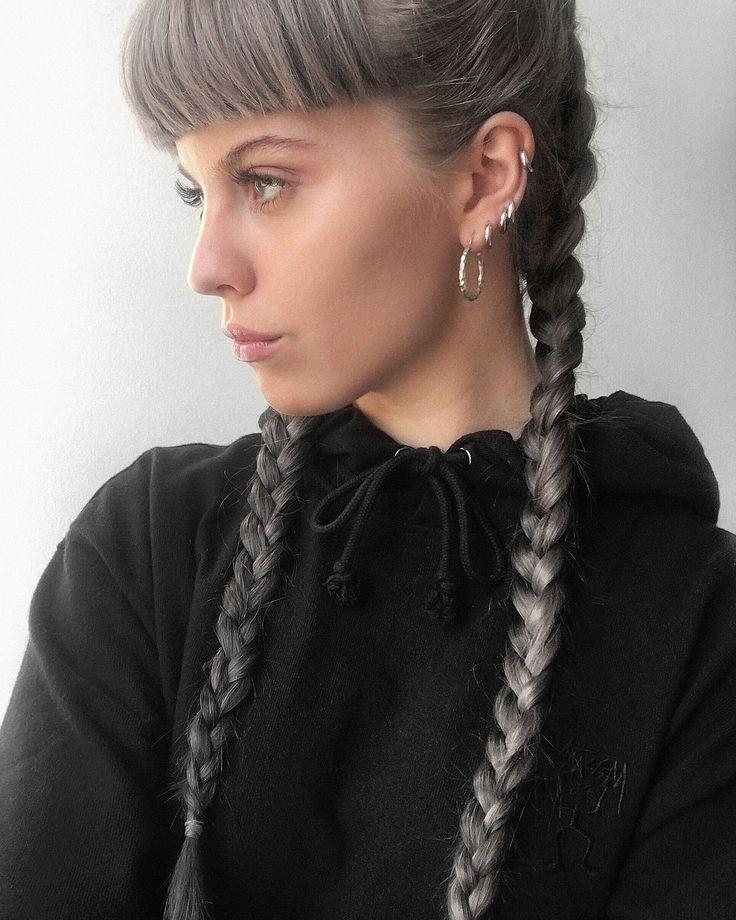 http://bon.se/blogs/frida-vega-salomonsson/ Gray hair, braids