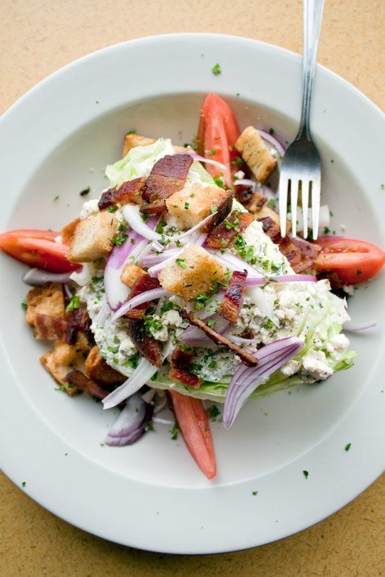 Recipe: Classic Wedge Salad with Blue Cheese