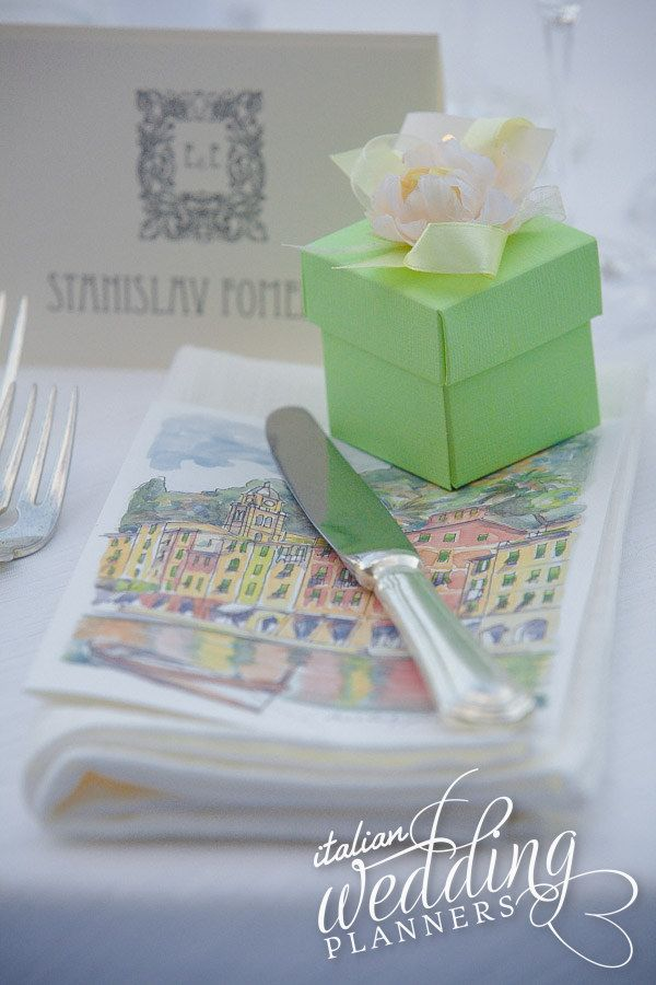 Traditional #Portofino gifts by @ItalianWeddingPlanners.com Email our Portofino wedding planners for info: info@italianweddingplanners.com