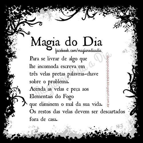 Magia no Dia a Dia: Magia do Dia: velas pretas