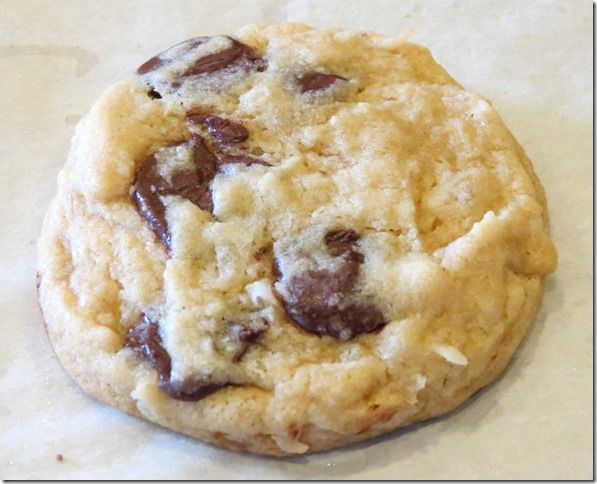 Coconut Chocolate Chip Cookies with crystallized ginger | Cookies ...