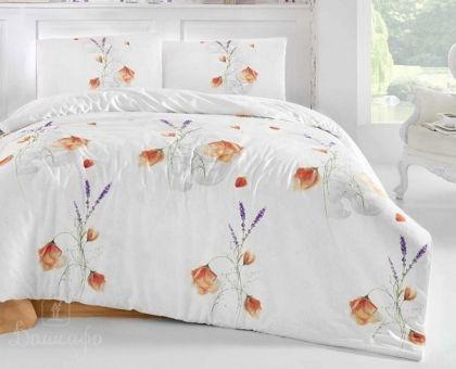 Купить постельное белье ALTINBASAK EDITA красное 50х70 1,5-сп от производителя Altinbasak (Турция)