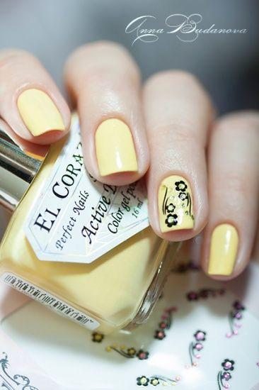 El Corazon Active Bio-gel Color gel polish №423/280 Cream   наклейки для ногтей El Corazon EC b12