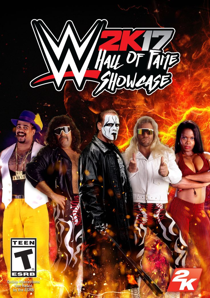 WWE 2K17 - Hall of Fame Showcase [Online Game Code]  Relive some of WWE's most historic matches featuring the 2016 Hall of Fame Class and also get new playable characters, attires, and arenas!  Matches include Sting vs Ric Flair (1988), Cactus Jack and Diamond Dallas Page vs. The Fabulous Freebirds (1992), Papa Shango vs. The Godfather, Big Boss Man vs. The Big Show, and much more.  Base game WWE 2K17 is required to play.