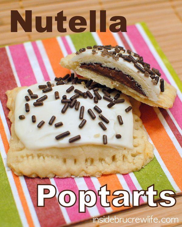 Nutella Poptarts   Inside BruCrew Life