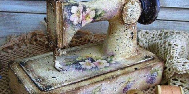 Boyanmış Dikiş Makineleri | gulresm.com