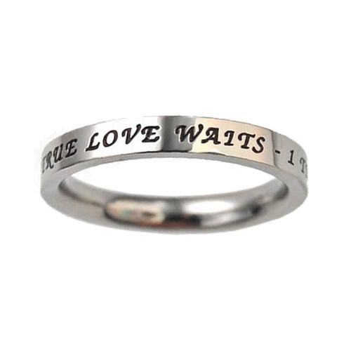 True+Love+Waits | Princess Cut True Love Waits Ring