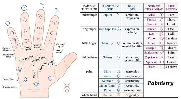 Palmistry - Mystical Gobbledygook or Scientific Fact