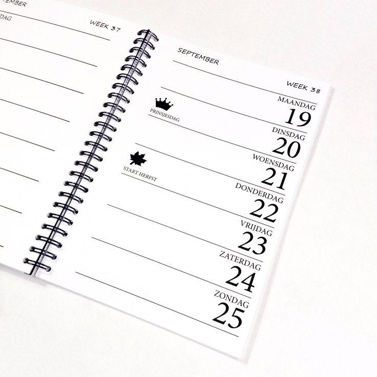 16 best Agenda\/Kalenders\/Dairy\/Calendar images on Pinterest - agenda