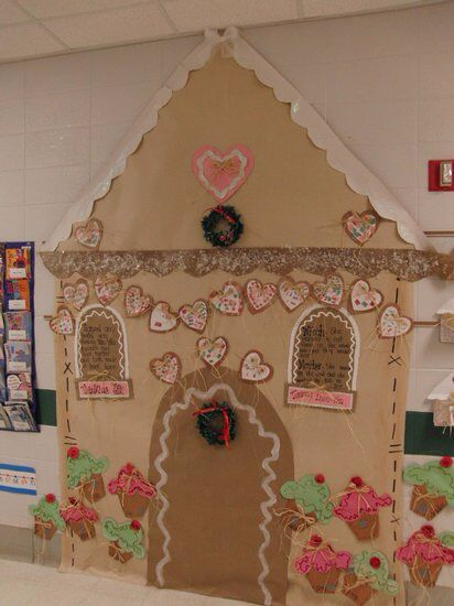 Gingerbread house | bulletin boards | Science bulletin ...