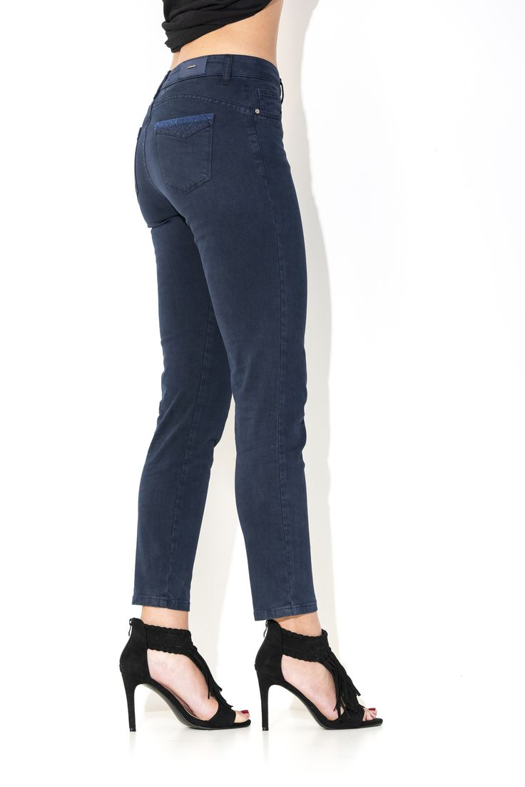 #pantalone #jeans #donna #outfit #moda #inverno #winter #2016 #2017 #pants #collection #skin #jeans #denim
