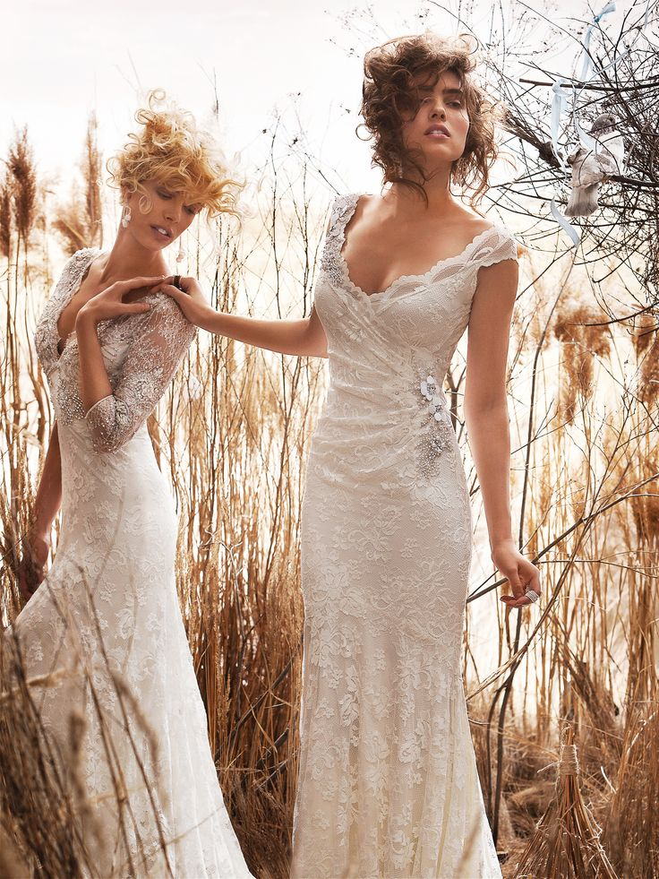 Rustic+Wedding+Gown