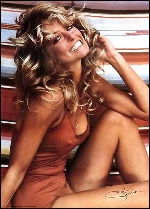 Farrah Fawcett - The most popular poster of the 70's.
