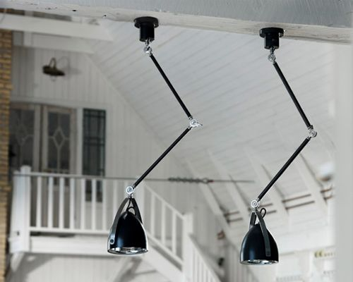 Description:Cyclist suspension  Materials: White or black metal  Dimensions: 200mm diameter x 1120mm high Lamps: 1 x E27 Brand: Mid century modern collection