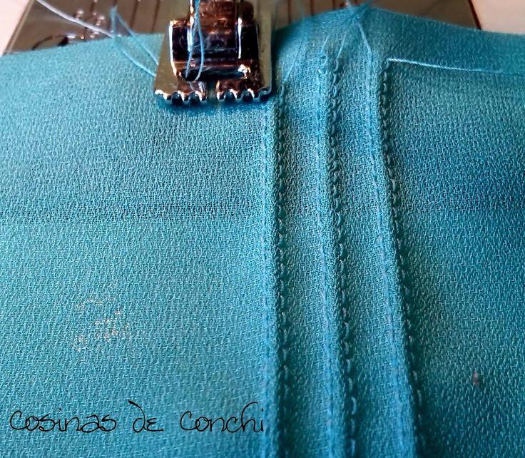 Hola a tod@s.   Hoy os traigo un minitutorial sobre un prensatelas especial para coser nervios. Hace un tiempo que lo había visto por algún ...
