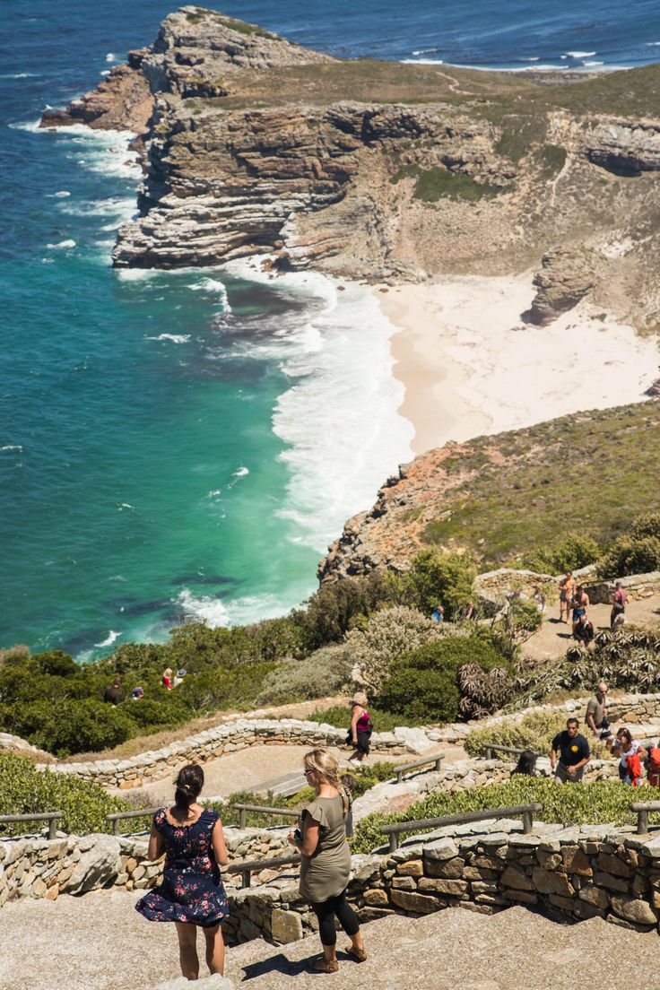 Just an hour's drive from the bustle & buzz of downtown Cape Town lies a large & peaceful reserve: Cape Point – one of the most scenically spectacular parks in the whole of South Africa. #Africa #SouthAfrica #Cape #travel #summer