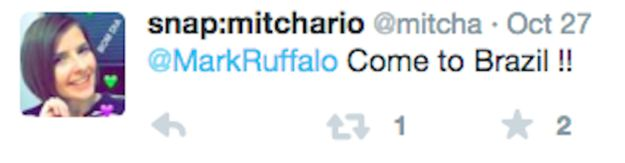 Also: | Mark Ruffalo Posted A Shirtless Pic Promoting Breast Cancer Awareness For Men