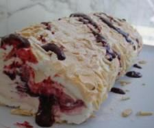Rolled Pavlova | Official Thermomix Recipe Community with a few changes of the ingredients we can make this receipe to slimming world