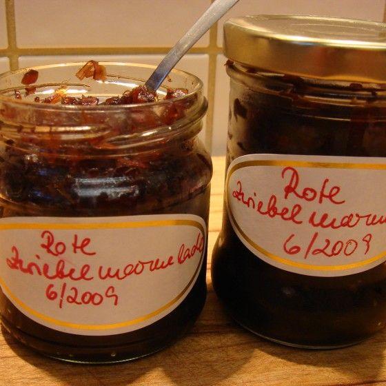 ESSEN & TRINKEN - Rotes Zwiebel-Chutney Rezept