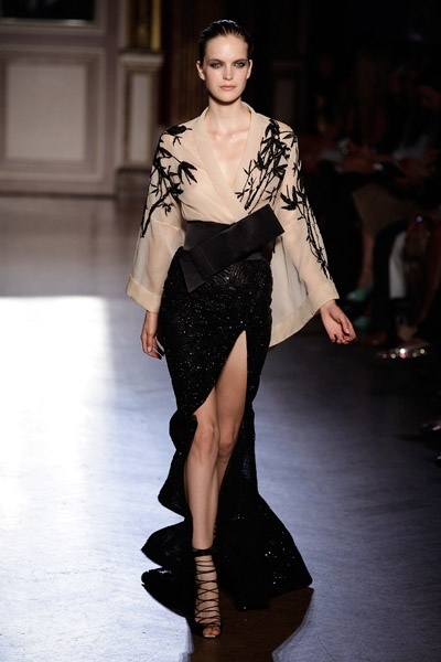 Asian inspired fashion Zuhair Murad Haute Couture Fall 2011