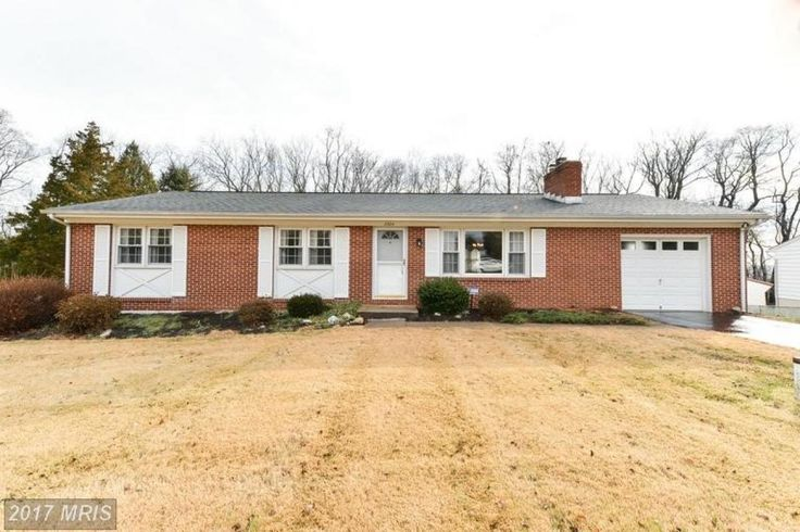 Happiness awaits in this well-kept rancher on half acre lot backing to woods and stream. Rewarding amenities & Updates include: hardwood floors, replacement windows, Gas Fireplace w/brick hearth,(was originally wood burning)  1 car garage, HVAC 2012, Roof, & water heater (2015). One year AHS warranty. Easy to show!. Convenient to Route 40 & APG. It's lovable and livable. Worthy of a visit!