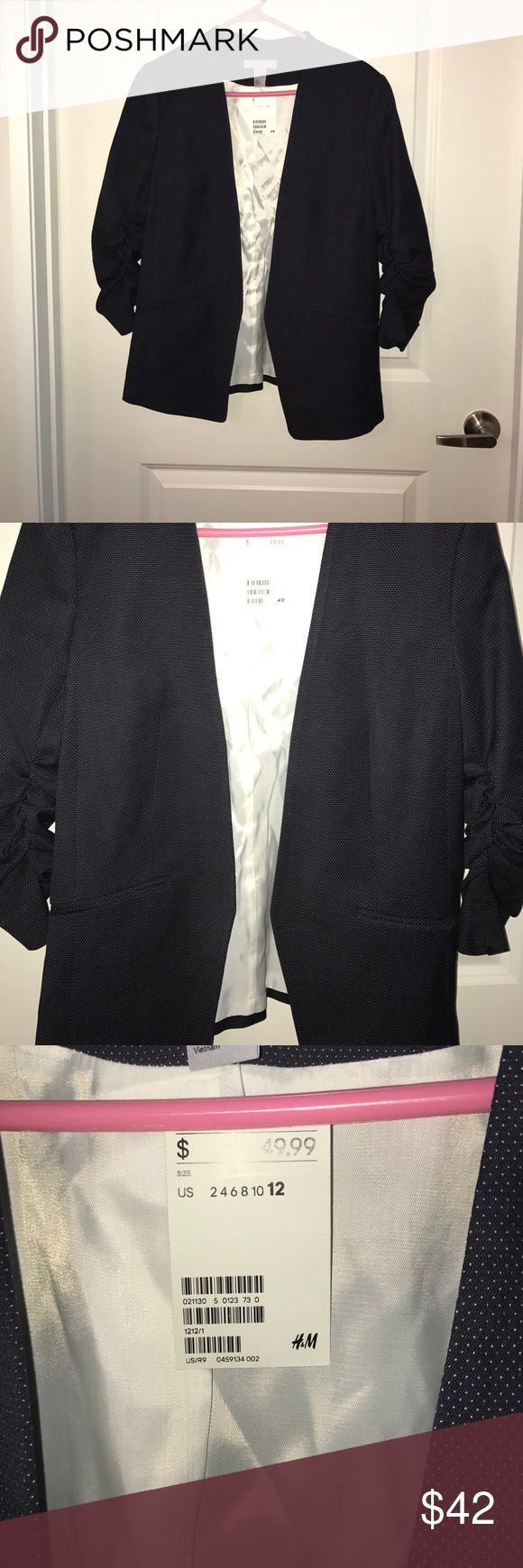 NWT H&M Blazer Never worn. Too small for me H&M Jackets & Coats Blazers