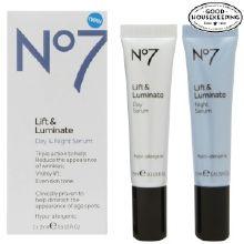No7Lift & Luminate Day & Night Serum 2 pk at Walgreens. Get free shipping at $35 and view promotions and reviews for No7Lift & Luminate Day & Night Serum 2 pk