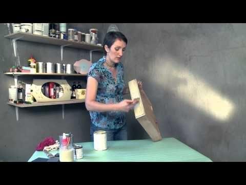 Декор мебели (патирование). Мастерская. Выпуск 3 - YouTube