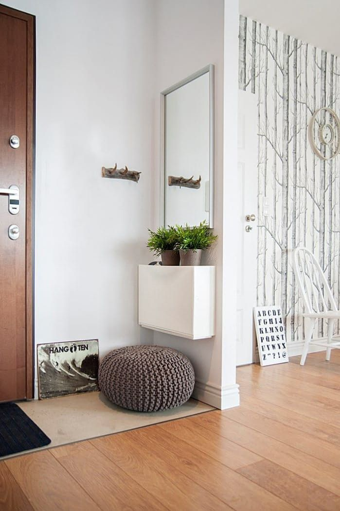 IKEA Trones cabinet to the rescue! | 5 Ways to Eke an Entryway Out of Almost No Space at All