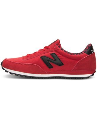 New Balance Women's 410 Casual Sneakers from Finish Line - Red 7.5