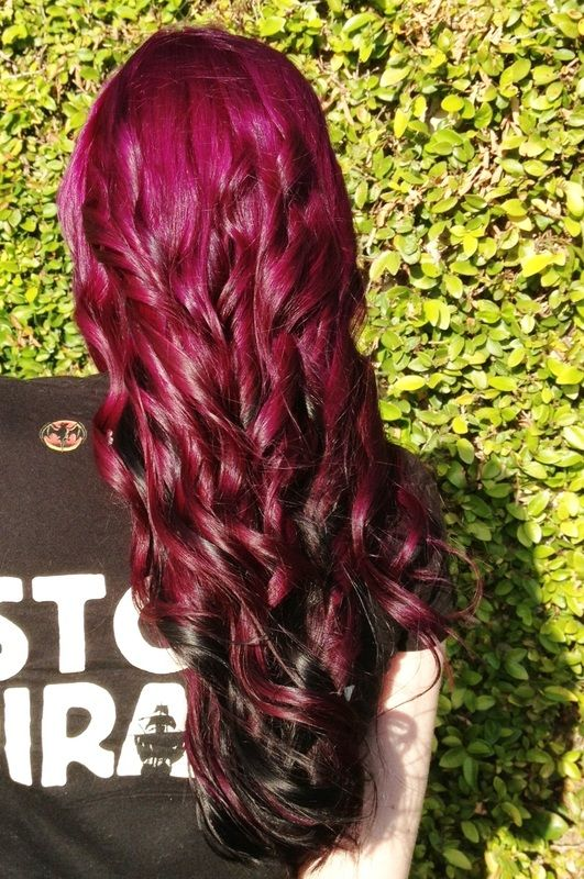 Custom Mixed Pravana Vivids Hair Color  1 Hairstyles And Etc  Pinterest