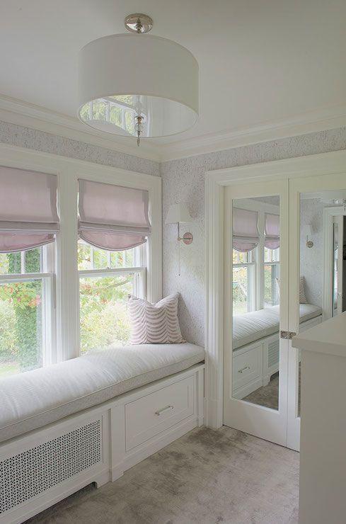 Mirrored Closet Doors - Transitional - closet - Laura Tutun Interiors