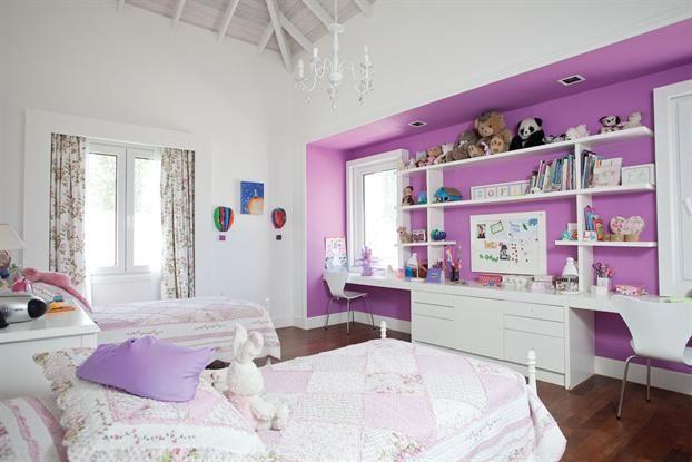 Un cuarto de chicas con estilo rom ntico - Vtv muebles infantiles ...