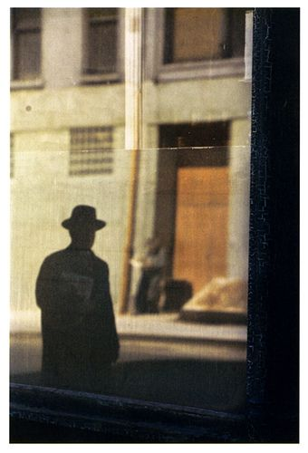 near The tanager, 1954 - saul leiter