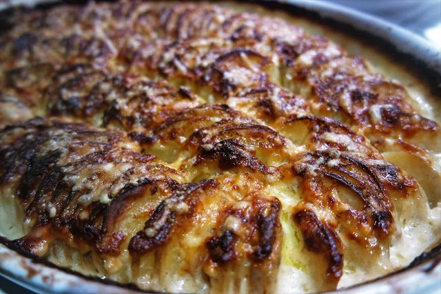 Maalaisbistro: Hasselbackan perunat hyppäsivät gratiiniin