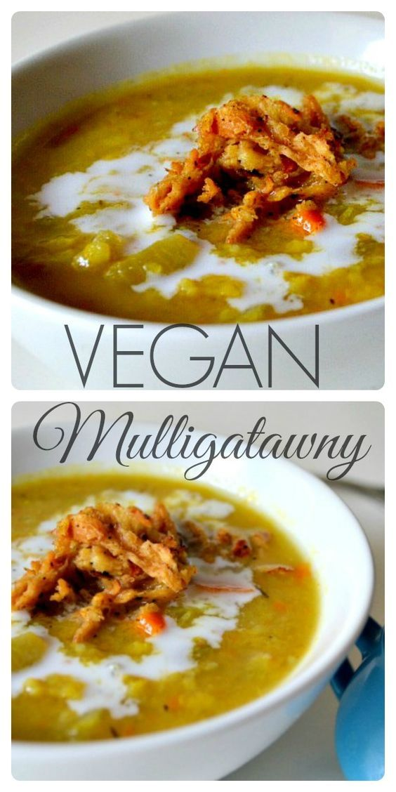 Delicious Vegan Mulligatawny (Inspired by Seinfeld) - A warm and spicy vegan soup! Click here for the recipe <3